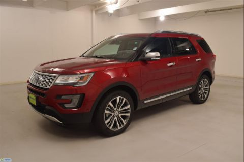 New 2017 Ford Explorer PLATINUM 4WD 4WD