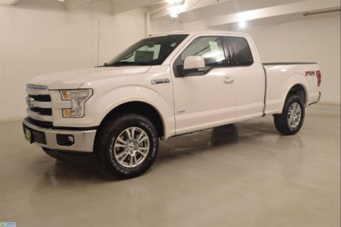 New 2016 Ford F-150 4WD SUPERCAB 145' LARIAT 4WD
